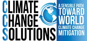 Climage Change Solutions: A sensible path toward world climage change mitigation