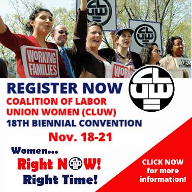 Register Now - Coalition of Labor Union Women
