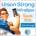 Union Plus - AT&T Wireless - Union Strong