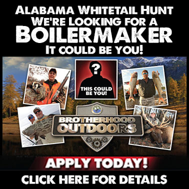 Apply to be a guest on Brotherhood Outdoors whitetail hunt