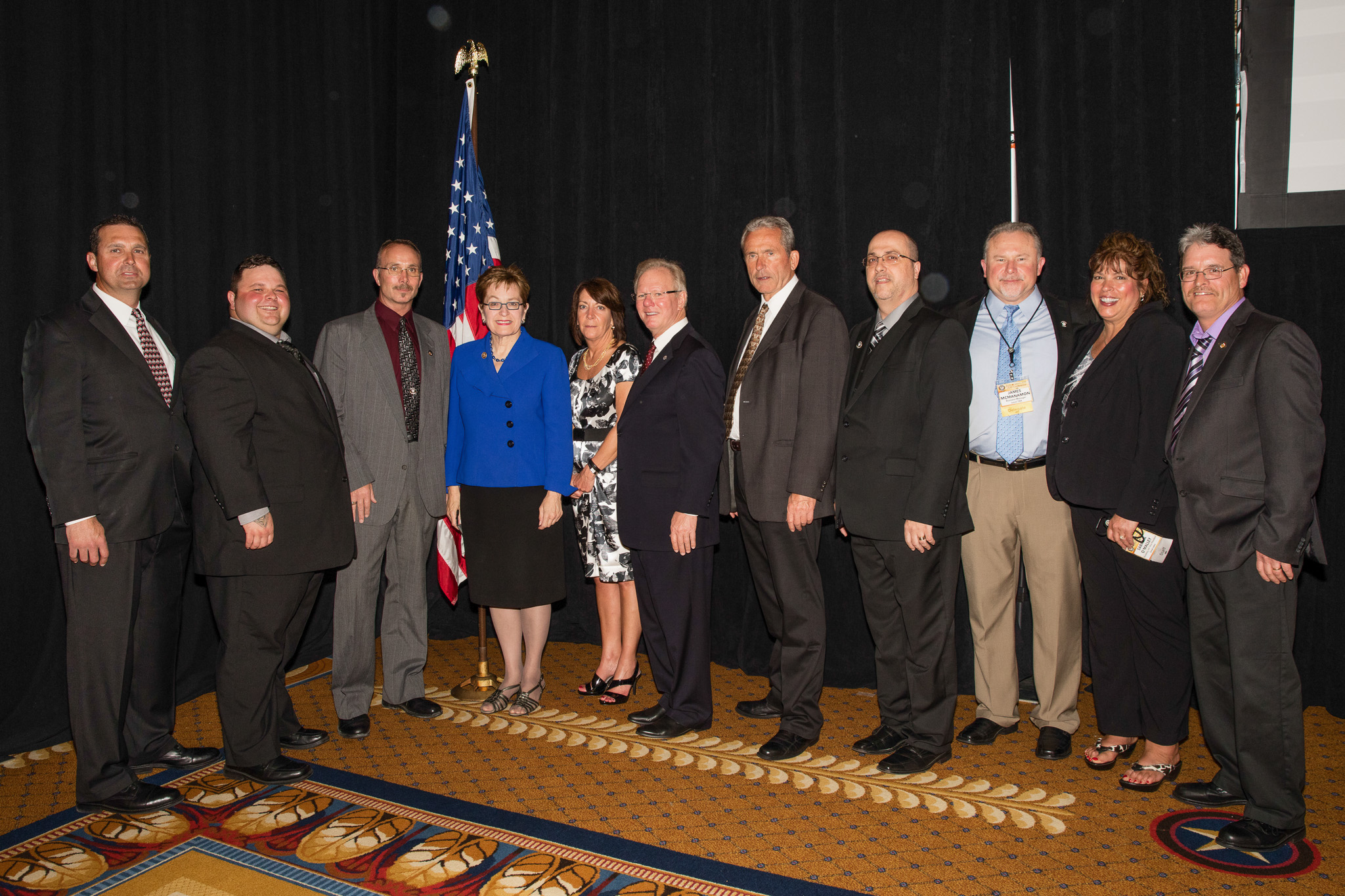 IBB reception draws members of Congress, aides | International Brotherhood of Boilermakers