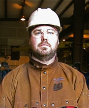 Illegally fired for his organizing efforts, Brian Opland now works for a union contractor.