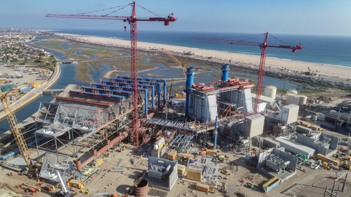 Boilermakers shine on Huntington Beach Energy Center job