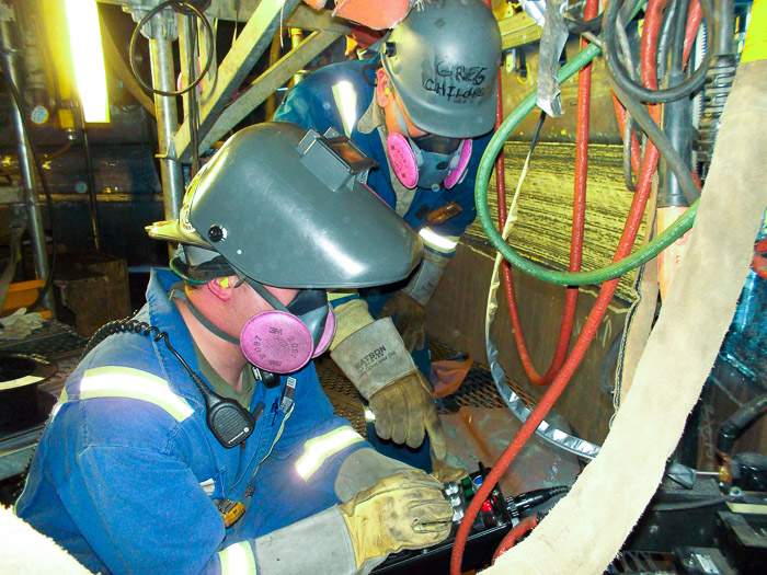 L 146 Members Learn Automatic Welding International Brotherhood Of Boilermakers