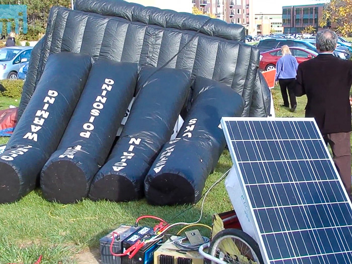 Inflatable Coal Plant Goes Limp After Solar Energy Source