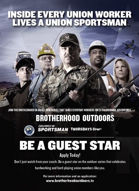 Be a Guest Star on Brotherhood Outdoors TV
