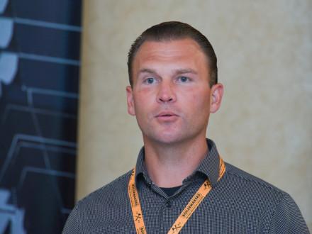 Andrew Jones en la Conferencia Nacional de Instructor BNAP, en mayo.