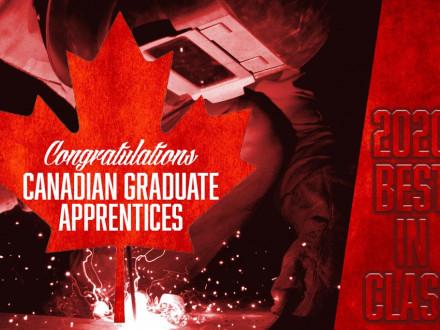 Honores a los mejores aprendices canadienses