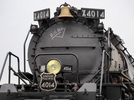 Union Pacific restauró el Big Boy 4014 con su «equipo a vapor» de nueve personas.