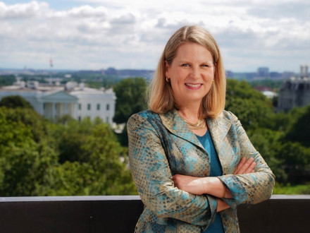 Liz Shuler, presidenta de la AFL-CIO
