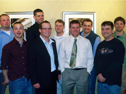 Great Lakes Area contestants include, front row, l. to r.: Matt Smith, Local 363; Brady Blotske, Local 647; Noel Springhart, Local 1; and Wayne Hayes, Local 60. Back row, l. to r.: Ryan Woods, Local 27 (runner-up); Jeffrey Rose, Local 107; Timothy Esparza, Local 374; Josue Fuentes, Local 169; and Matthew Vodraska, Local 744 (winner).