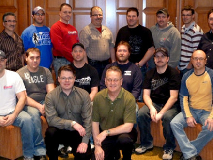Local 73 members attend field supervisory leadership training in Moncton, New Br