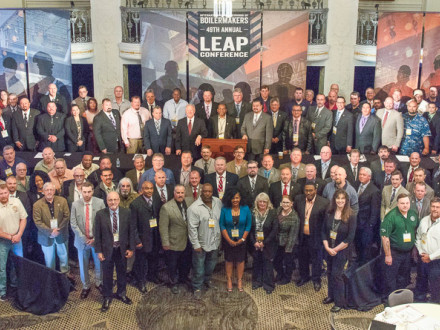 Delegates attend the 49th Annual LEAP conference in Washington, D.C., April 23-26.