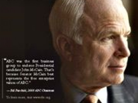 Brochure (PDF, 124kb) gives many good reasons for Boilermakers to oppose McCain.