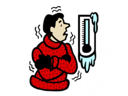 Take extra precaution in extreme cold