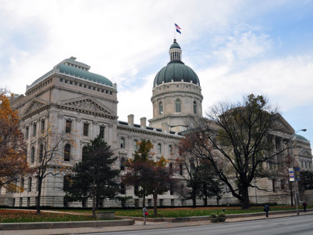 Indiana State Capitol.  Photo by vxla/Flickr
