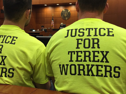 National Labor Relations Board directs Terex to reinstate 13 terminated workers