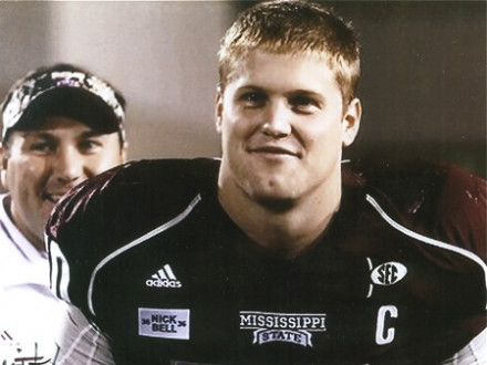 Chris White, son of the late L-112 member Larry White and grandson of retired member James B. White, played for Mississippi State.