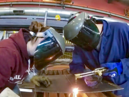 High School Welding Rodeo Held at Lodge 146