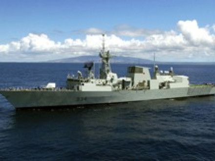 All 12 Halifax-class frigates, including this one built in the early 1990s, now require upgrades