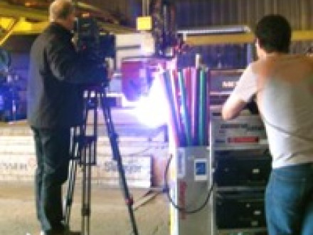 "Discovery Channel's ""How It's Made"" films members of Local 5's Zone 175 making vertical steam boilers for a show to be aired in the spring of 2009."
