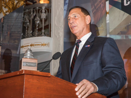 Congressman LoBiondo praises the Boilermakers, and organized labor, as the backbone of the country.