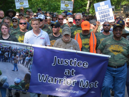 Stand with Warrior Met Miners August 4