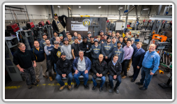 Humber College's apprenticeship class of January 2020 with representatives from TIW Steel Platework Inc.
