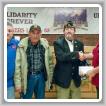 Izq. a der., Robbie Grant, presidente del L-83; Craig Sparks, miembro del Post y miembro retirado del L-83; Mark Suthers, comandante del Post y miembro retirado del L-83, Scot Albertson, BM-ST del L-83.