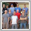 La Logia del Distrito del Cemento D11 celebró su conferencia 2017 en Sun Peaks, Columbia Británica, el pasado mes de julio. Asistieron, en primera fila, izq. a der., Tony Andrade, BM-ST, D10; Randy Martin, D331; Wayne Cameron, D331; Brent Hunnisett, D486; Rob Lauzon, IR; Kevin Sheptycki, D11; Jordan Dunne, D400; Scott Slade, D359; y Nathan Blais, D277. Segunda fila, izq. a der., Josh Deweerd, D385; Elloitt Cramner-Sargison, D331; Nate Reily, D486; Phyllis Van Rhyn, D385; Greg Dunning, D385; Dan Kerr, D277;