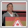 El vicepresidente internacional de Canadá Arnie Stadnick.