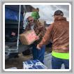 El representante jubilado de la sede sindical internacional Gary Evenson, es voluntario en Adopt-A-Native-Elder en la reserva Navajo cerca de Winslow, Arizona.