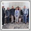La representante Eleanor Holmes Norton (D-DC), al centro, en la recepción Congresional LEAP 2019 con, izq. a der., Vernon Jackson y el difunto Wilton Barnett, L-S50; IVP-NE John Fultz; Dan Weber, L-193; Clifton Saul, L-S50; EA-DGA Hannah Samuel; Ron Myers, L-193; Darrin Furgason y Brian Bosse, Vulcan.
