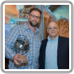 Ryan Creeden was presented with the 2019 IBB Conservation Steward of the Year Award by USA Director of Union Relations Walt Ingram.