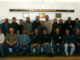 Twenty-seven members from four Ontario lodges attend a Canadian Basic Stewards Program at Local 128's hall in Burlington, Ontario, Oct. 22, 2008: Local D366 (Mississauga) — Lino Darosa, Derry Harris, Dave Sharpe, Jameson Amaral, David Miller; Local D387 (Picton) — Kevin Perry, Donald Leslie, Dale Welsh, Denise Bolton; Local D488 (Acton) — Lincoln Trevail, John Mayes, Richard Holmes, Greg Hines, Jim Louwe, Patrick Van Ravenswday, Stan Young, John Holtz, Geoff Gratton, Shawn Cross; and Local 128 (Toronto) — D