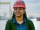 IR Erica Stewart, a member of L-693, has been appointed as National Coordinator of Women in the Trades Initiatives for the M.O.R.E. Work Investment Fund.