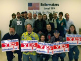 L-199 volunteers work to help pass constitutional amendments curtailing gerrymandering in Florida.