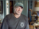 WILSON MULL, a retired member of L-29 (Boston), appears on the History Channel's American Pickers and barters off some of his extensive collection of old signs and antique stoves.