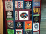 JoBeth Allison's Southeast-themed quilt will be raffled for disaster relief.