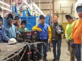 The PipeWorx 350 FieldPro system has helped Boilermakers Local 92 train members in easier-to-learn and more productive advanced wire welding processes which, in turn, have helped the union meet the increasing demand for skilled workers on a wider variety of jobsites in southern California and southern Nevada.