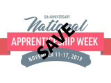 """National Apprenticeship Week has been re-branded by NABTU affiliates as National """"Save"""" Apprenticeship Week in an ongoing effort to preserve industry registered programs like the Boilermakers' apprenticeship program."""